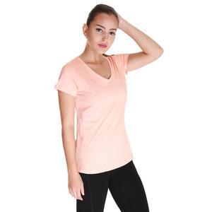 Spo-Flakestop Kadın Pembe Günlük Stil Tişört 610003-SPN-SP