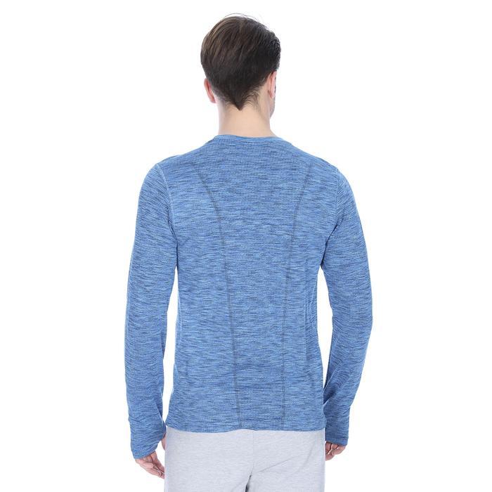 Seamless Erkek Mavi Koşu Tişörtü Tke1044-00M 1079297