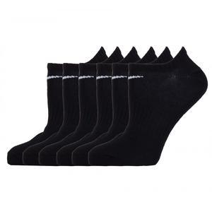 Everyday Lightweight Siyah 6lı Çorap SX7679-010
