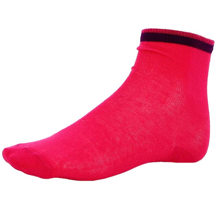 Çocuk Pembe 2Li Çorap 2014009-MIX 622438