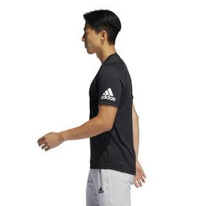 Geo Tee Performance Erkek Siyah Antrenman Tişörtü FL4436