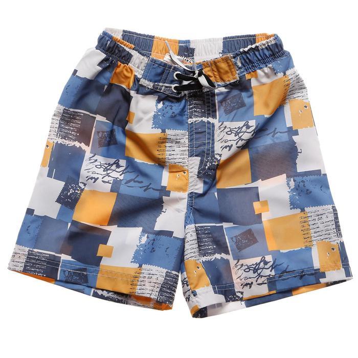 Dash Çocuk Çok Renkli Desenli Deniz Şortu 230126-ILB 389772
