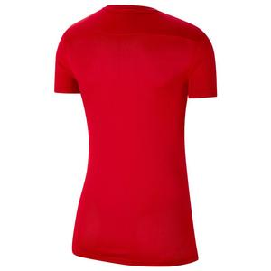Nk Dry Park Vii Jsy Ss Kadın Kırmızı Tişört BV6728-657