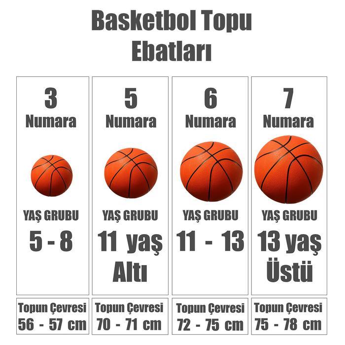 Lebron All Courts 4P NBA Unisex Turuncu Basketbol Topu N.KI.10.855.07 995573