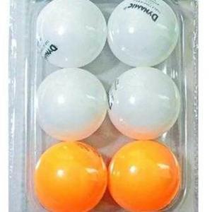 New Unisex Beyaz 6 lı Pinpon Topu 1DYAKTB23-N