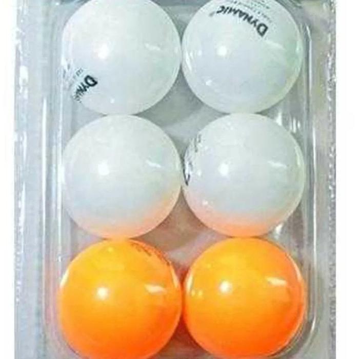 New Unisex Beyaz 6 lı Pinpon Topu 1DYAKTB23-N 1198027