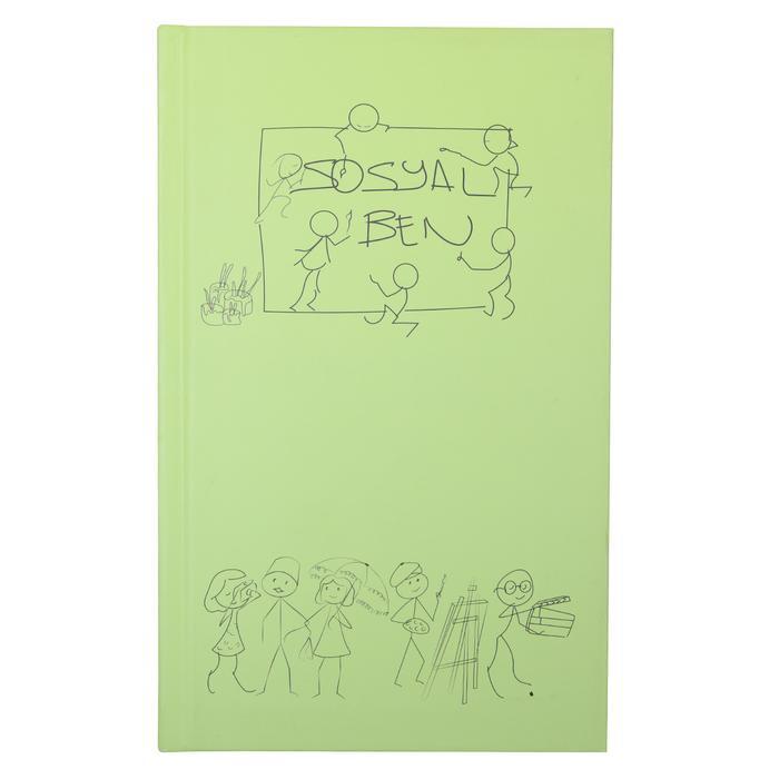 Yeşil Kalın Kaplı Defter 20200109-04-YESIL 1176098