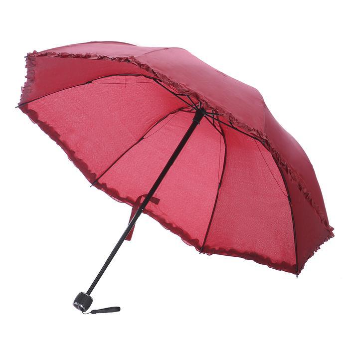 Bordo Katlanabilir Şemsiye 20200109-10-BORDO 1180764