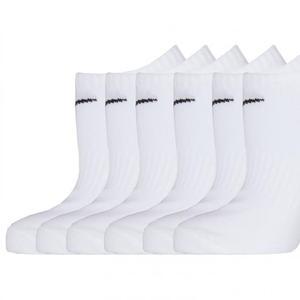Everyday Lightweight Beyaz 6lı Çorap SX7679-100