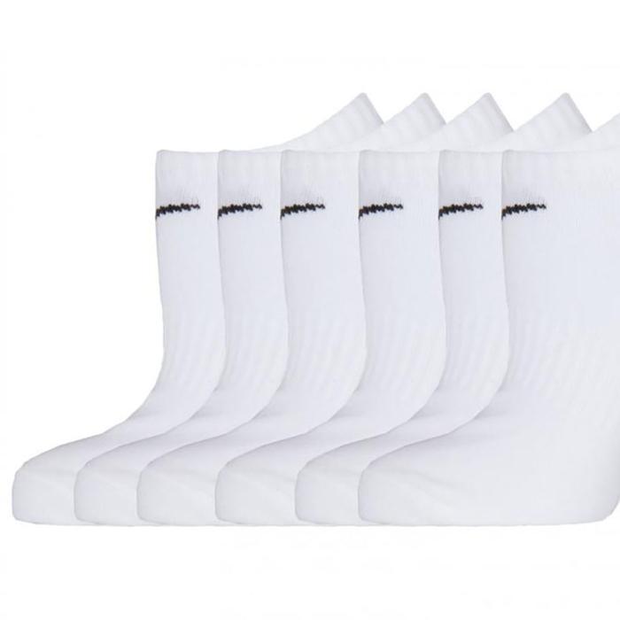 Everyday Lightweight Beyaz 6lı Çorap SX7679-100 1063453
