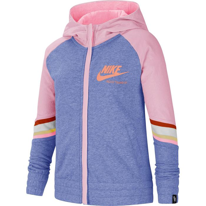 Nsw Heritage Fz Hoodie Çocuk Mavi Tenis Sweatshirt CU8293-478 1211691