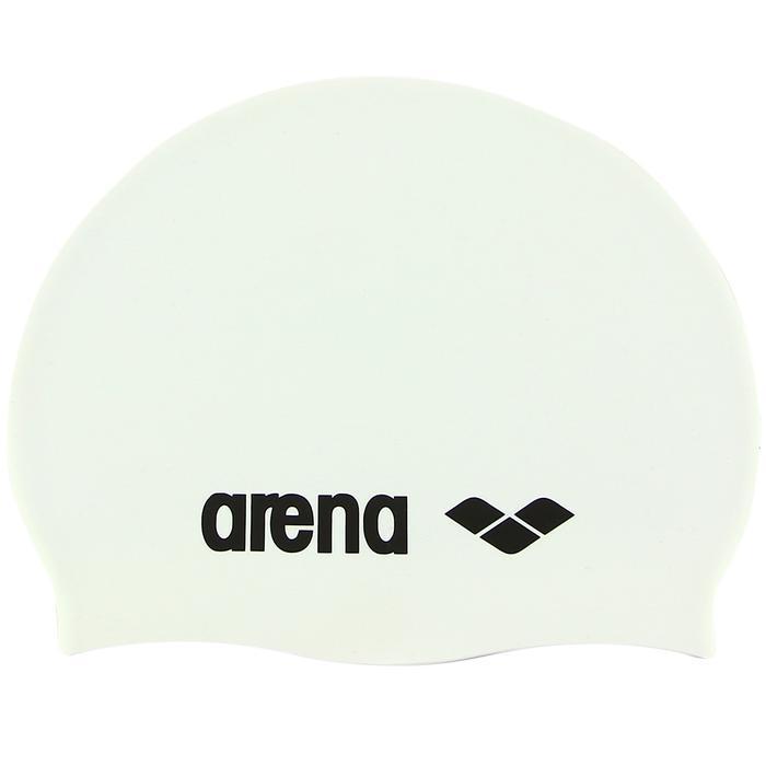 Classic Silicone Unisex Beyaz Yüzücü Bone 9166215 144941