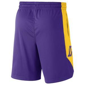 Los Angeles Lakers NBA Practice 18 Erkek Mor Basketbol Şortu AJ5077-504