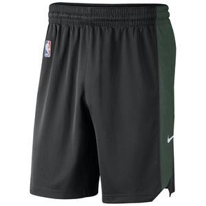 Mil M Nk Practice 18 Erkek Siyah Basketbol Şortu AJ5083-010