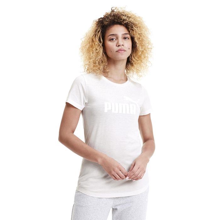 Ess+ Logo Heather Tee Kadın Beyaz Günlük Tişört 85212717 1172565