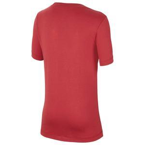 Galatasaray Evergreen Crest Çocuk Kırmızı Futbol Tişört AQ7854-628