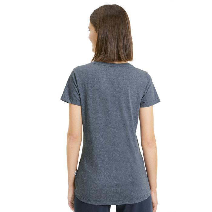 Ess+ Logo Heather Tee Kadın Gri Günlük Tişört 85212743 1172570