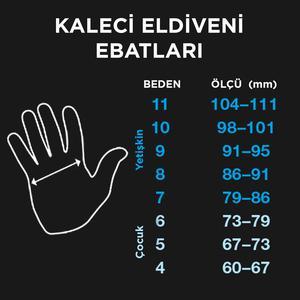 Grande Unisex Turuncu Futbol Kaleci Eldiveni SPT-KE107
