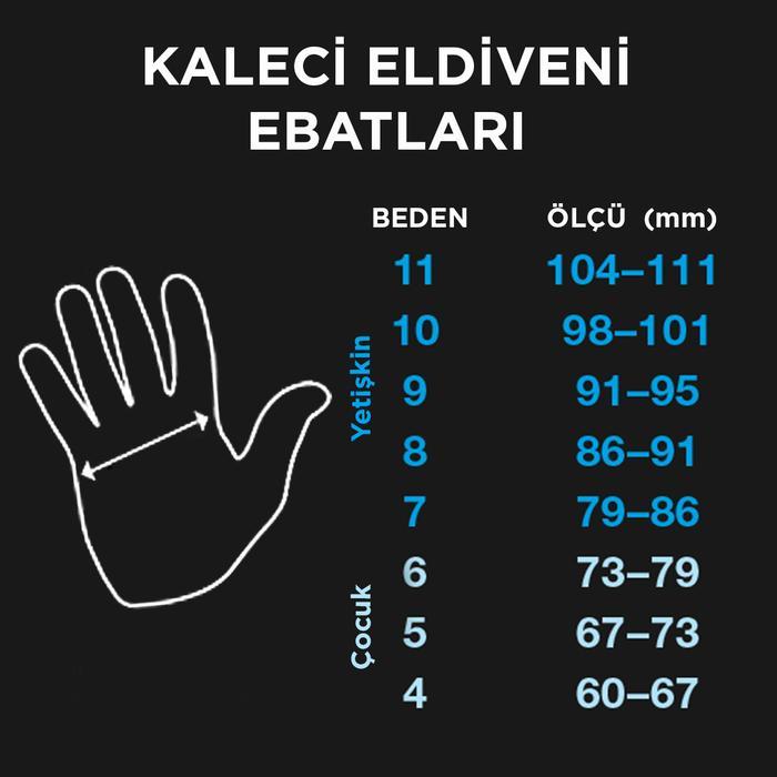 Tempesta Unisex Sarı Futbol Kaleci Eldiveni SPT-KE106 995063