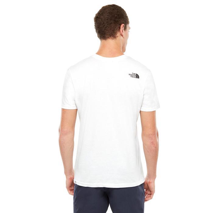 S-S Simple Dome Tee Erkek Beyaz Outdoor Tişört NF0A2TX5FN41 1190185