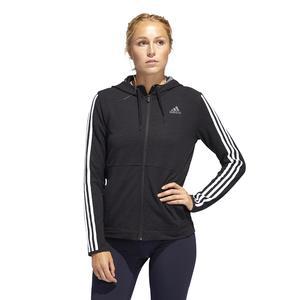 3S Knt Fz Hoody Kadın Siyah Antrenman Sweatshirt FJ7316