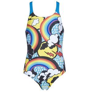 G Rainbows Jr Swim Pro Back One Piece L Çocuk Siyah Yüzücü Mayo 002926580