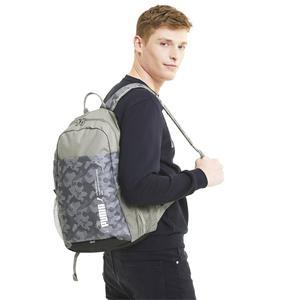 Style Backpack Unisex Gri Günlük Stil Sırt Çantası 07670308