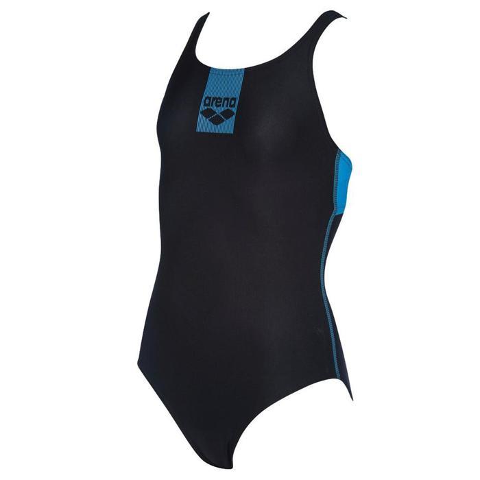 G Basics Jr Swim Pro Back One Piece Çocuk Siyah Yüzücü Mayo 002352580 1146651