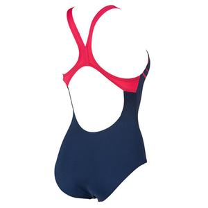 W Essentials Swim Pro Back One Piece Lb Kadın Lacivert Yüzücü Mayo 002543709