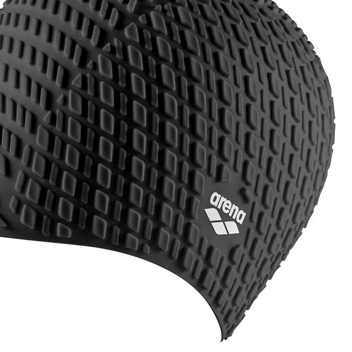 Bonnet Silicone Cap Unisex Siyah Yüzücü Bone 001914200 1073377