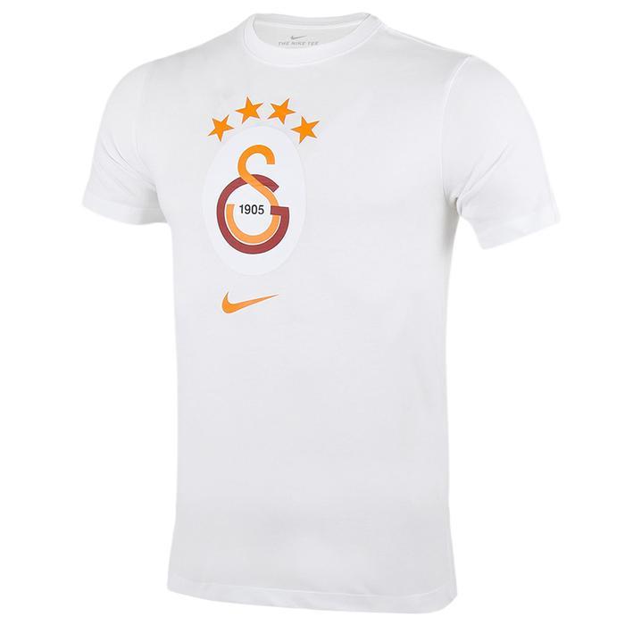 Galatasaray Tee Evergreen Crest Erkek Beyaz Futbol Tişört AQ7501-100 1165206
