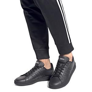 Grand Court Erkek Siyah Günlük Ayakkabı EE7890