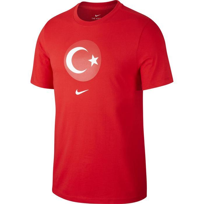 Türkiye 2020 Evergreen Crest Erkek Kırmızı Futbol Tişört CD0794-657 1153168