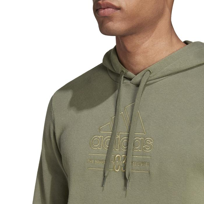 M Bb Hd Sw Erkek Yeşil Günlük Stil Sweatshirt GD3846 1223974