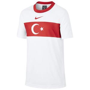 Türkiye 2020 Milli Takım Çocuk Beyaz Tişört CD1208-100