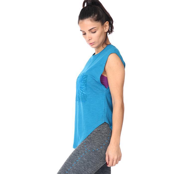 Santa Clara Kadın Mavi Tişört 711032-PTR 1158396