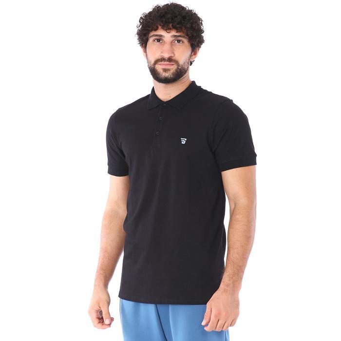 Pikepolo Erkek Siyah Günlük Stil Polo Tişört 711215-SYH 1158432