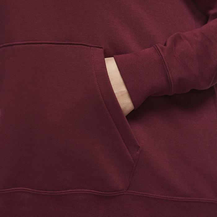 W Nsw Essntl Hoody Po Flc Plus Kadın Kırmızı Günlük Stil Sweatshirt CJ0409-638 1234910
