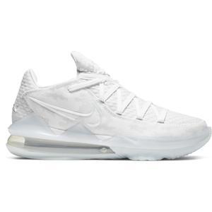 Lebron XVII Low NBA Erkek Beyaz Basketbol Ayakkabısı CD5007-103