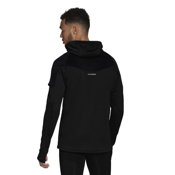 Own The Run Warm Erkek Siyah Koşu Sweatshirt FS9802 1222916