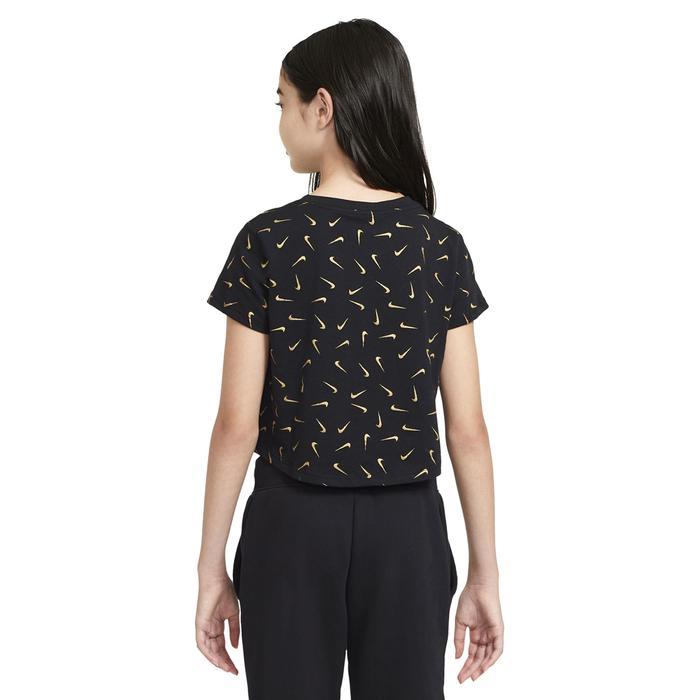 Sportswear Tee Crop Çocuk Beyaz Günlük Tişört CZ1126-011 1234643
