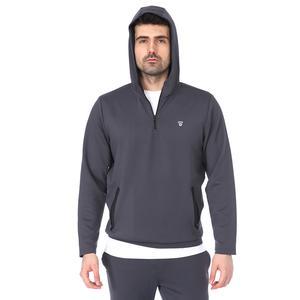 Spo-Polrunkap Erkek Antrasit Koşu Sweatshirt 711359-ANT