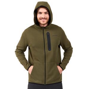 2X I-Lock M Printed Zip Erkek Haki Günlük Stil Sweatshirt S202095-801