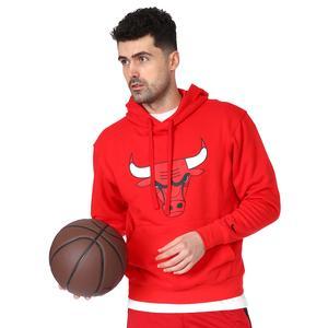 NBA Chicago Bulls Erkek Kırmızı Basketbol Sweatshirt CN1191-657