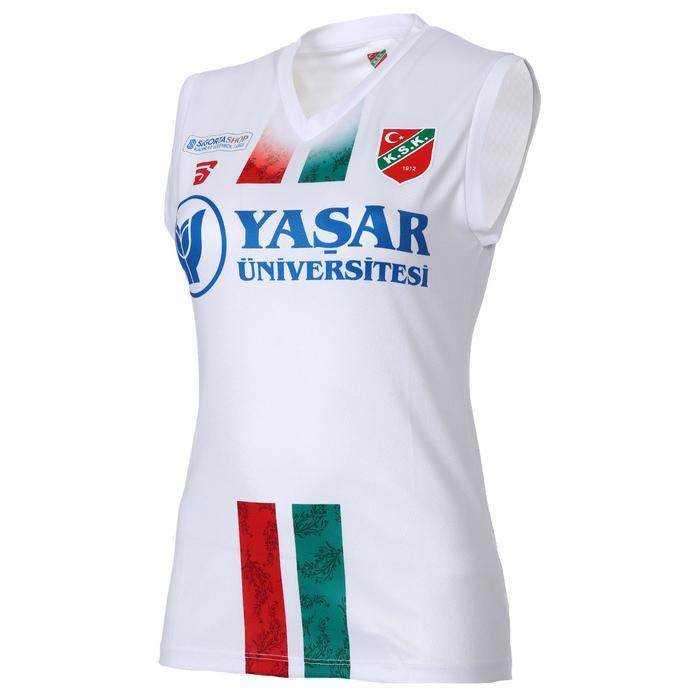 Karşıyaka Kadın Beyaz Voleybol Forma TKY100157-BYZ-KSK 1236926