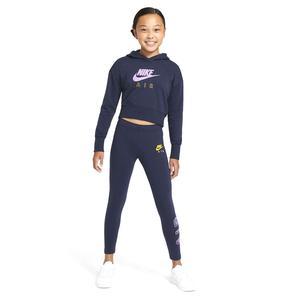 G Nsw Air Favorites Legging Çocuk Mavi Günlük Stil Tayt CU8299-451