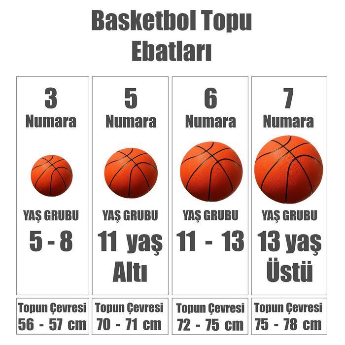 Dominate 8P Unisex Siyah Basketbol Topu N.000.1165.095.05 1092757