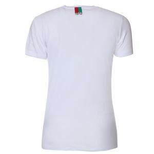 Karşıyaka Kadın Beyaz Basketbol Tişört TKY100142-BYZ