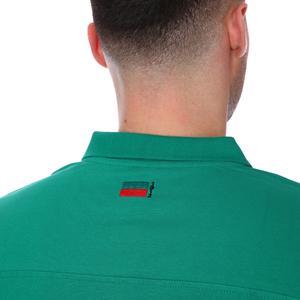 Karşıyaka Erkek Yeşil Basketbol Polo Tişört TKY100136-YSL