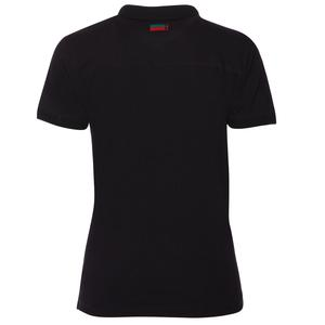 Karşıyaka Kadın Siyah Basketbol Polo Tişört TKY100137-SYH